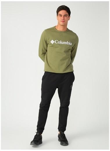 Columbia Columbia CS0091 M Logo Erkek    Sweatshirt Yeşil
